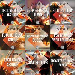 FL Studio Templates Mega Pack by WA Production