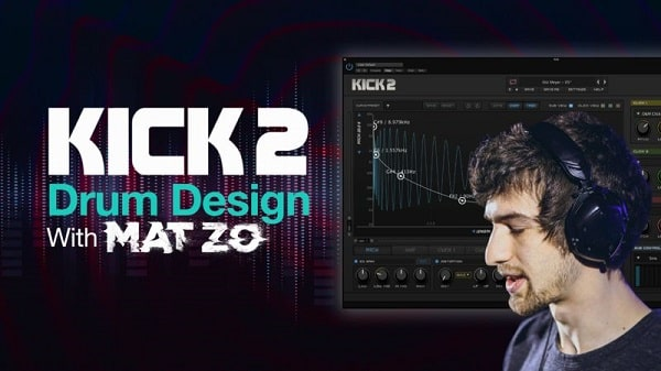 Sonic Academy Kick 2 Drum Design with Mat Zo TUTORIAL