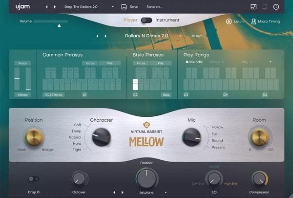 UJAM Virtual Bassist MELLOW v2.1.1 VST AAX [WIN]