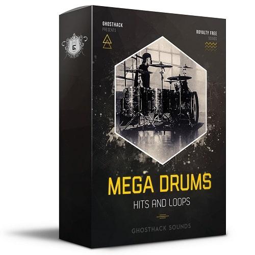Ghosthack Sounds Mega Drums - Hits & Loops WAV