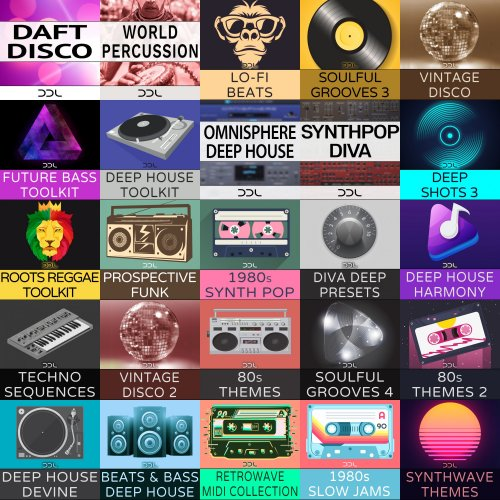 Deep Data Loops Sample Packs Collection