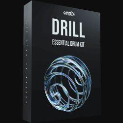 Cymatics Drill - Essential Drum Kit WAV MIDI