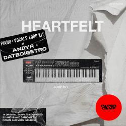 Andyr x datboigetro HEARTFELT (Piano + Vocals LOOP KIT) WAV MiDi