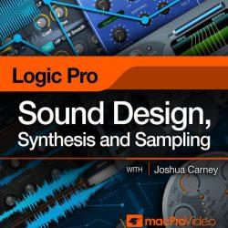 Logic Pro X 309 Sound Design, Synthesis and Sampling TUTORiAL
