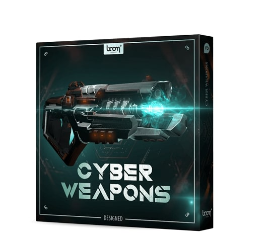 Boom Library Cyber Weapons - Designed WAV
