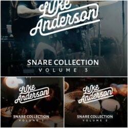 Luke Anderson Snare Collection Volume 1-3
