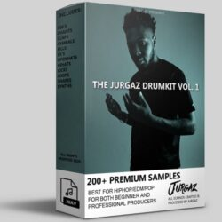 JURGAZKITS The Jurgaz Drumkit Vol.1 WAV