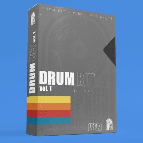 Pprod Drum Kit vol 1 WAV MIDI ADG