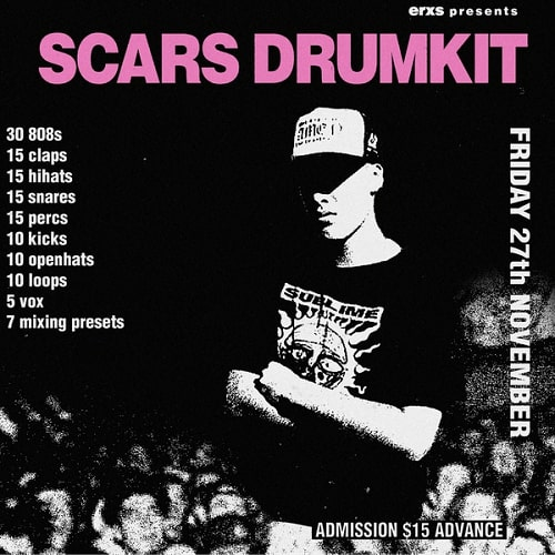 ERXS Scars (Drumkit) WAV FST