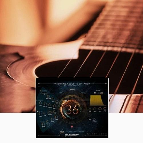 Scoring Acoustic Guitars Kontakt Library