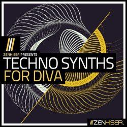 Techno Synths For Diva - Techno Presets, Audio & Midi