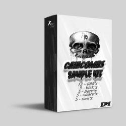 X10 Catacombs Drum Kit WAV MIDI FST