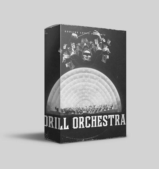 Godlike Loops Drill Orchestra WAV MIDI