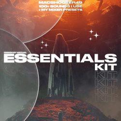 macshooter49 Essentials Drum Kit WAV FST