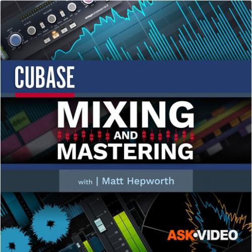 Cubase 11 103 Mixing & Mastering