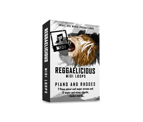 Tropical Samples ReggaeLicious Piano, Organ & Rhodes MIDI