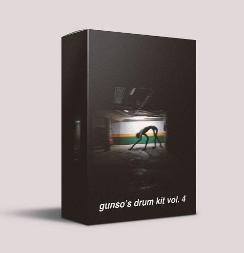Gunso's Drum Kit Vol.4 WAV FST