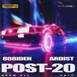 Ardist x 808iden Post 20 Pt. 2 Drumkit WAV