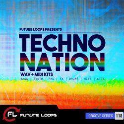 Future Loops Techno Nation WAV + MIDI Kits