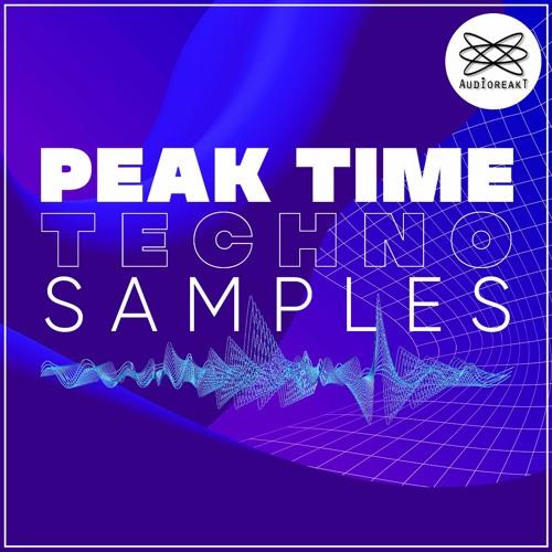 Audioreakt Peak Time Techno Samples Pack WAV MIDI