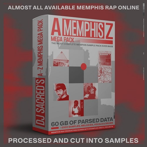 Memphis A-Z Mega Pack by DJ Sacred