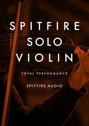 Spitfire Audio Spitfire Solo Violin KONTAKT