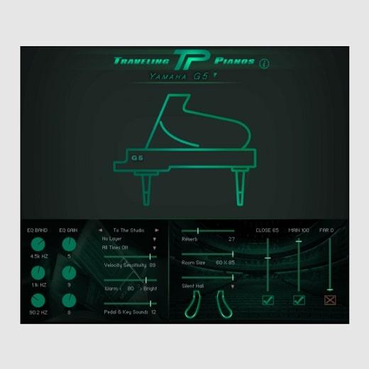 Kirk Hunter Studios Traveling Pianos KONTAKT