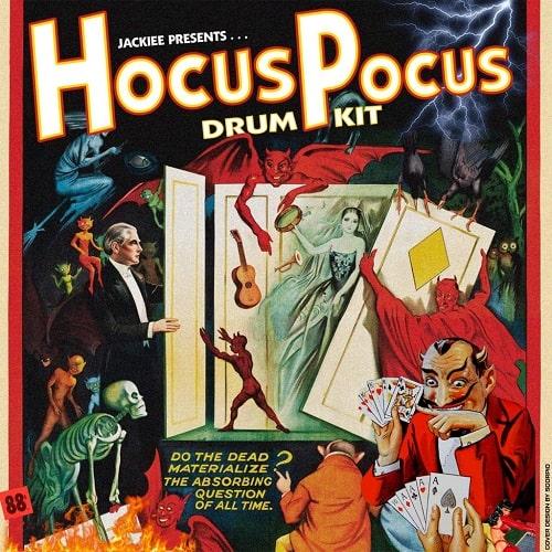 prodbyjackiee Hocus Pocus (Drum Kit) WAV MIDI FST