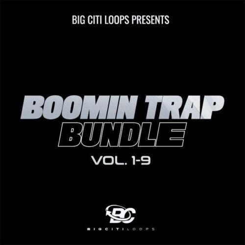 Big Citi Loops Boomin Trap Bundle Vols 1-9 WAV MIDI