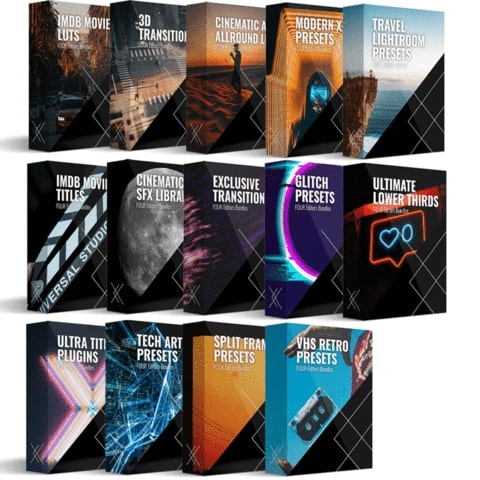 FOUR Editors Platinum Bundle: Complete All in 1