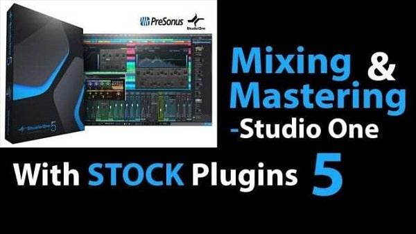 Skillshare Mixing & Mastering Masterclass using Studio One. Lesson 1 TUTORIAL