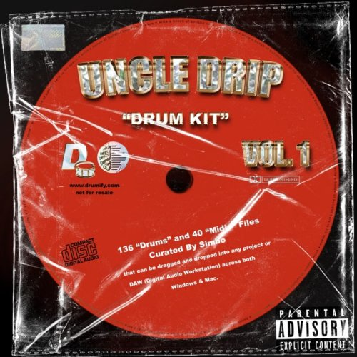 Simbo Uncle Drip Vol 2 Drum Kit WAV MIDI