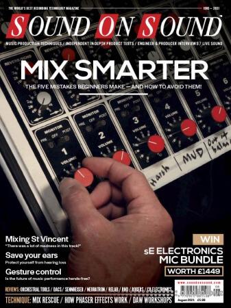 Sound On Sound UK August 2021