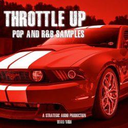 Strategic Audio Throttle Up Pop & RnB Samples WAV MIDI