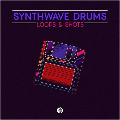 OST Audio Synthwave Drums Sample Pack