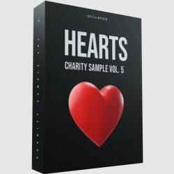 Cymatics Hearts Vol. 5 Sample Pack + Bonuses WAV MIDI FXP