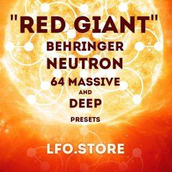 LFO Store Red Giant Behringer Neutron - 64 Massive Presets