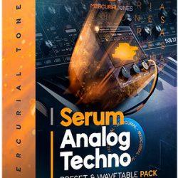Mercurial Tones Xfer Serum Analog Techno Presets WAV MiDi Wavetables FXP
