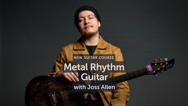 Musicisum Metal Rhythm Guitar with Joss Allen MP4 MP3