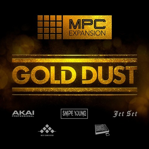 AKAI MPC Software Expansion Gold Dust v. 1.0.4