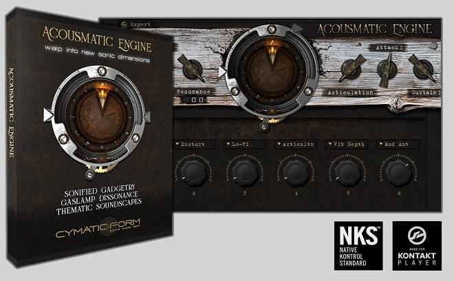 Cymatic Form Acousmatic Engine v1.0 KONTAKT